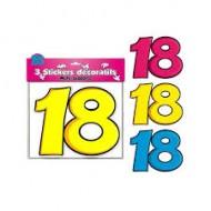 3 Stickers Décoratifs 18