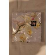 Serviette papier Branche Orchidée