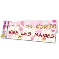 Bannière Vive Les Mariés