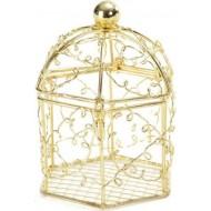 Bonbonnière Métal Cage Or