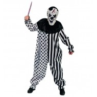 Déguisement Clown Arlequin Horreur