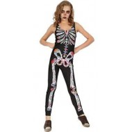 Déguisement Day Of The Dead Luxe Femme