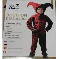 Déguisement Bouffon Diabolique Enfant