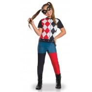 Déguisement Classique Harley Quinn DC Superhero Girls