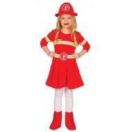 Déguisement Pompier Fille Enfant