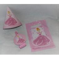 Sachet Goûter Princesse Rose
