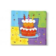 Serviette Papier Happy Birthday