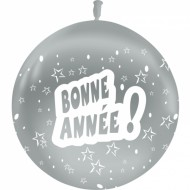 Ballon Latex Bonne Année