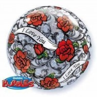 Ballon Bubbles  I Love You