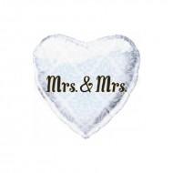 Ballon Aluminium Mrs & Mrs