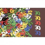 Confettis de Table 30ans Multicolore