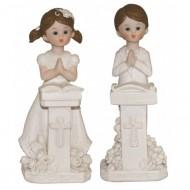 Figurine Communiant et son Pupitre Fille ou Garçon