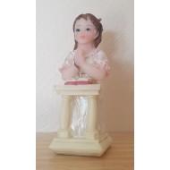 Figurine Communiante Agenouillee