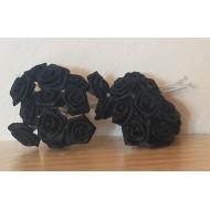 Roses sur Tiges Noire x24