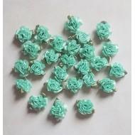 Boutons de Roses Vert Clair x26