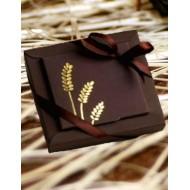 Boites Dragées Communion Chocolat Epis Or